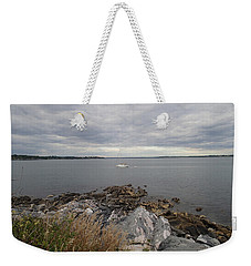 Weekender Tote Bag featuring the photograph Coming Home by Robert Nickologianis