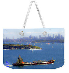 Weekender Tote Bag featuring the photograph Coming In by Miroslava Jurcik
