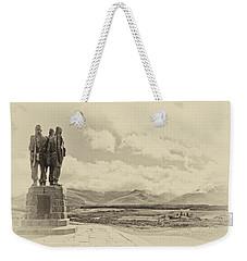 Commando Memorial 3 Weekender Tote Bag