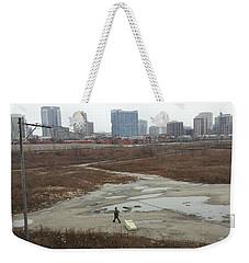 Commercial Break Weekender Tote Bag