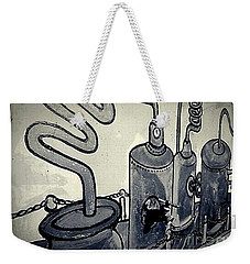 Commercial Wall Weekender Tote Bag by Fei A