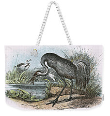 Common Crane Weekender Tote Bag by English School