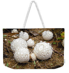 Common Puffball Dewdrop Harvest Weekender Tote Bag