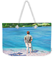 Communicating With Nature  Weekender Tote Bag