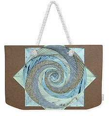 Weekender Tote Bag featuring the mixed media Compass Headings by Ron Davidson