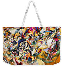Composition Vii  Weekender Tote Bag