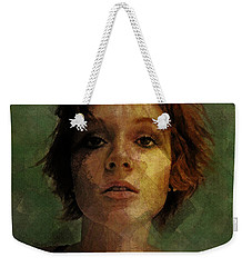 Composure Weekender Tote Bag by Galen Valle