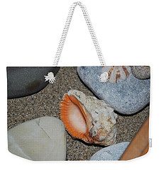 Weekender Tote Bag featuring the photograph Conch 1 by George Katechis