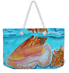 Conch Shallows Weekender Tote Bag