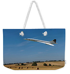 Concorde At Harvest Time Weekender Tote Bag