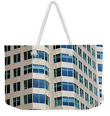 Concrete And Blue Glass Weekender Tote Bag