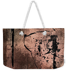 Concrete And Silk Weekender Tote Bag