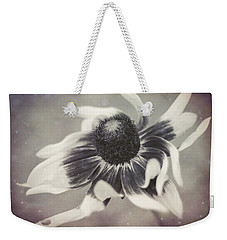 Coneflower In Monochrome Weekender Tote Bag