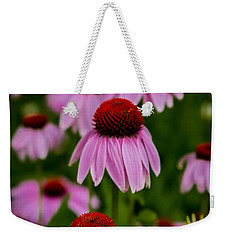 Coneflowers In Front Of Daisies Weekender Tote Bag