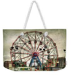 Coney Island Wonder Wheel  Weekender Tote Bag