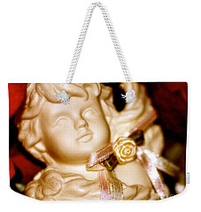 Confetti Cherub Weekender Tote Bag by Cathy Dee Janes