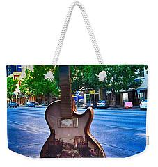 Congress Avenue Sixth String Weekender Tote Bag