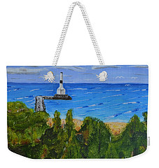 Summer, Conneaut Ohio Lighthouse Weekender Tote Bag