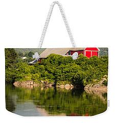 Connecticut River Farm Weekender Tote Bag by Edward Fielding