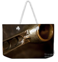 Connecting Rods Indian Scout Racer Weekender Tote Bag by Wilma  Birdwell