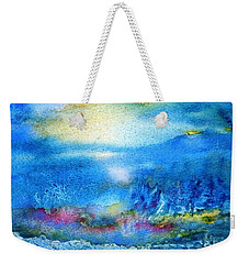 Connemara -waiting For Sunrise  Weekender Tote Bag by Trudi Doyle