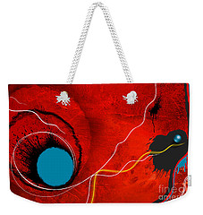 Consciousness Of The Inanimate Weekender Tote Bag by Paul Davenport