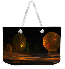 Consumed From Within Weekender Tote Bag by GJ Blackman