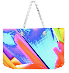 Consuming The Grid Weekender Tote Bag by Xn Tyler