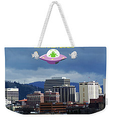 Contact With A Dead Planet 2 Weekender Tote Bag