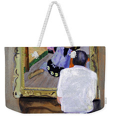 Contemplating Gauguin Weekender Tote Bag
