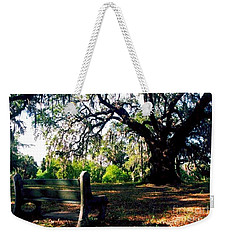 Weekender Tote Bag featuring the photograph New Orleans Contemplating Solitude by Michael Hoard