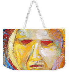 Contemplating The Sun Weekender Tote Bag