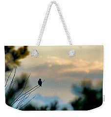 Weekender Tote Bag featuring the photograph Contemplation by Bruce Patrick Smith