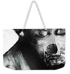Contemporary Clown Weekender Tote Bag