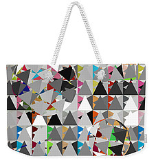 Contemporary Weekender Tote Bag