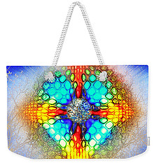 Weekender Tote Bag featuring the photograph Transformation by Kellice Swaggerty