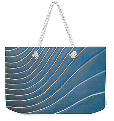 Weekender Tote Bag featuring the photograph Contours 1 by Wendy Wilton