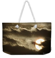 Weekender Tote Bag featuring the photograph Contrast by Clare Bevan
