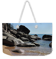Contrast Weekender Tote Bag by Jola Martysz