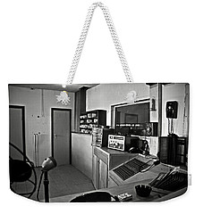 Control Room In Alcatraz Prison Weekender Tote Bag