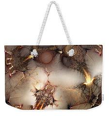 Controversy Weekender Tote Bag by Casey Kotas