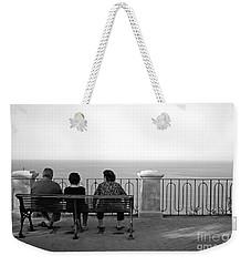 Conversations By The Sea Weekender Tote Bag