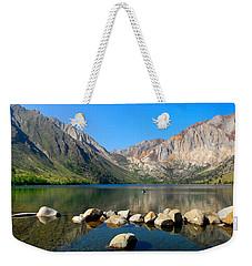 Convict Lake Panorama Weekender Tote Bag