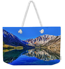 Convict Lake Reflections Weekender Tote Bag