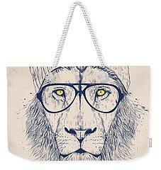 Cool Lion Weekender Tote Bag
