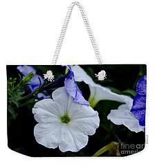 Cool Summer Petunias Weekender Tote Bag by Wilma  Birdwell