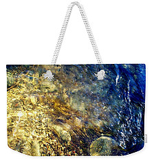 Cool Waters...of The Rifle River Weekender Tote Bag by Daniel Thompson