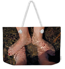 Cooling The Feet Weekender Tote Bag