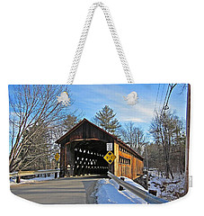 Coombs Covered Bridge Weekender Tote Bag