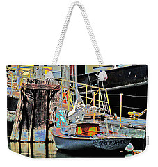 Coos Bay Harbor Weekender Tote Bag